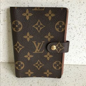 AUTHENTIC LOUIS VUITTON AGENDA PM DIARY COVER